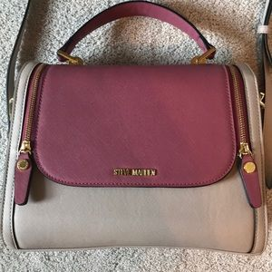 Two-tone Steve Madden purse